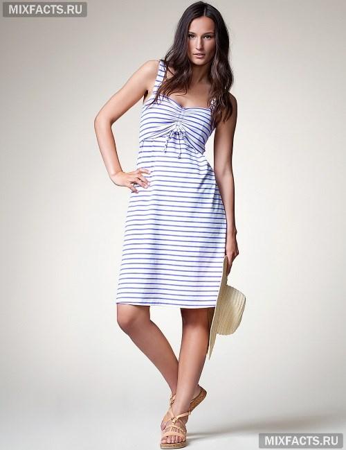 Фасоны платьев для беременных. летнее полосатое 2a42690e9c4