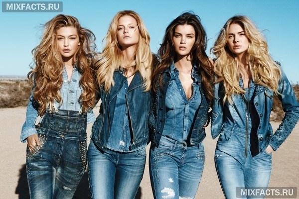 С чем носить светлые джинсы? (фото)