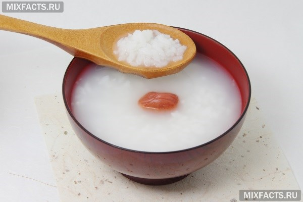 Диета на рисовой воде
