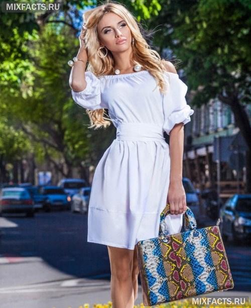 0c649a20125 Платье с открытыми плечами c фото красивых фасонов