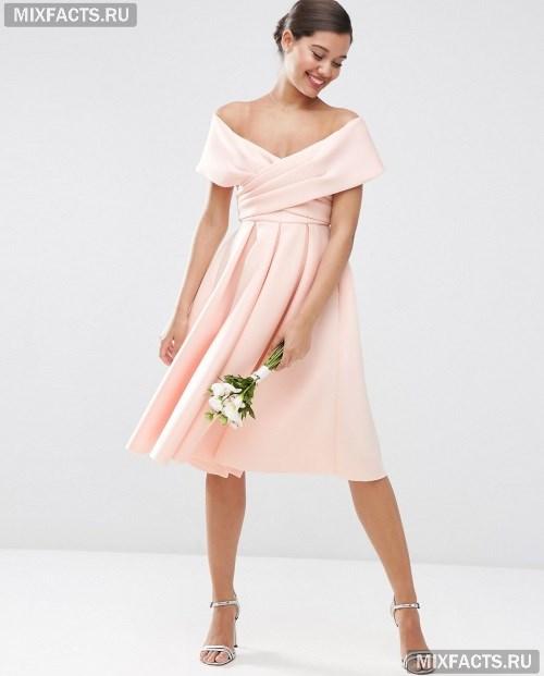 32508895745 Платье с открытыми плечами c фото красивых фасонов