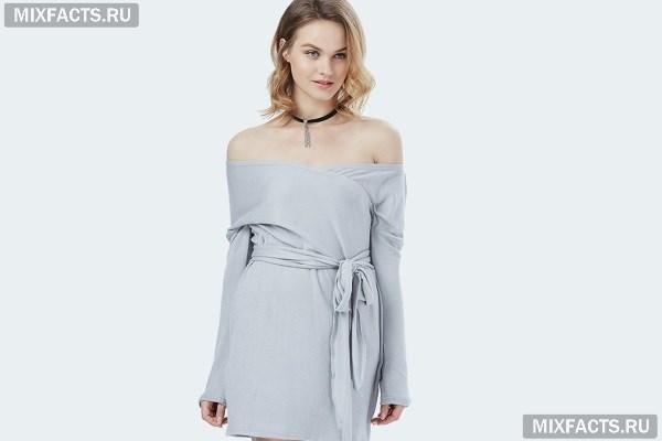 db597bd2629 Платье с открытыми плечами c фото красивых фасонов
