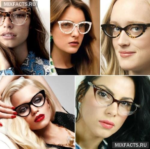 Кому идут очки кошачий глаз  (фото) ea172c4152039