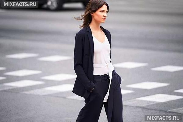 393472534fe Женские костюмы 2018 - фото с брюками