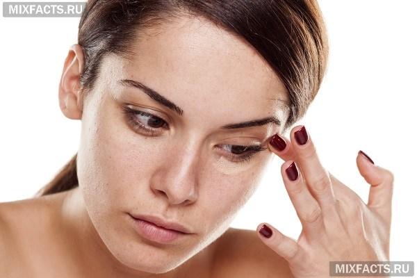 Как замаскировать мешки, отеки и синяки под глазами с помощью косметики?