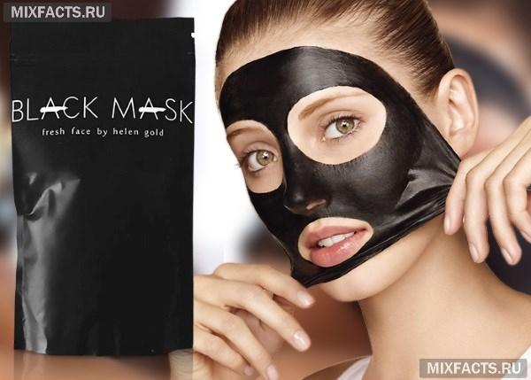 Черная маска для лица от черных точек - обзор домашних рецептов и покупных средств
