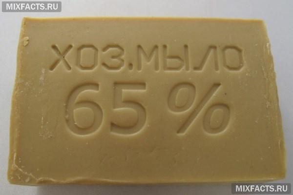 Хозяйственное мыло от папиллом, как 49