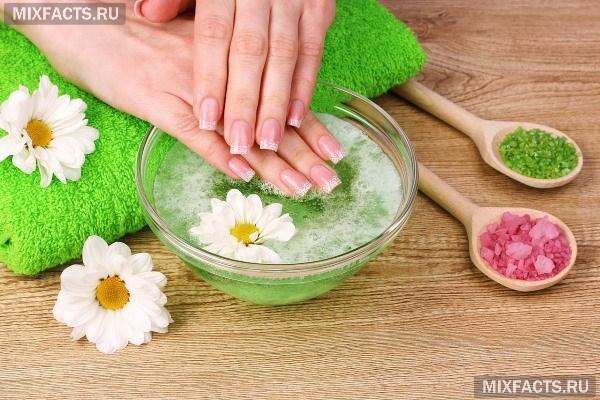 Народные средства от слоения ногтей