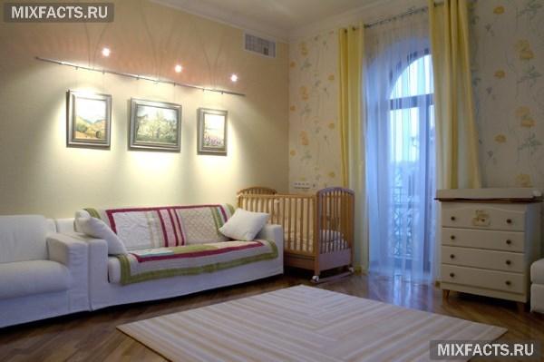 Как обставить однокомнатную квартиру с ребенком функционально 48