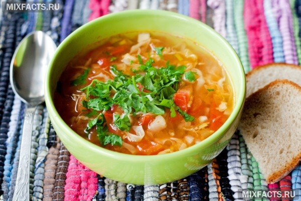 Диета на капустном супе 7 дней.