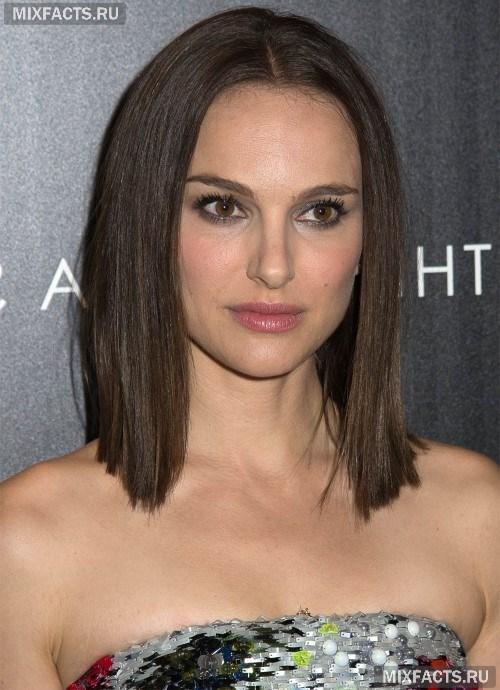 стрижка средней длины на прямые волосы фото