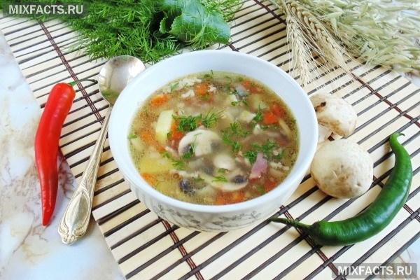 Гречневый суп на курином бульоне (рецепты)