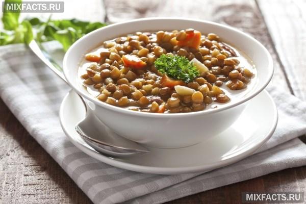 Диетические блюда для похудения из чечевицы