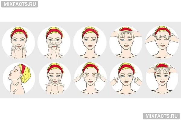 Гимнастика для лица от морщин - упражнения Анастасии Бурдюг и Кэрол Маджио