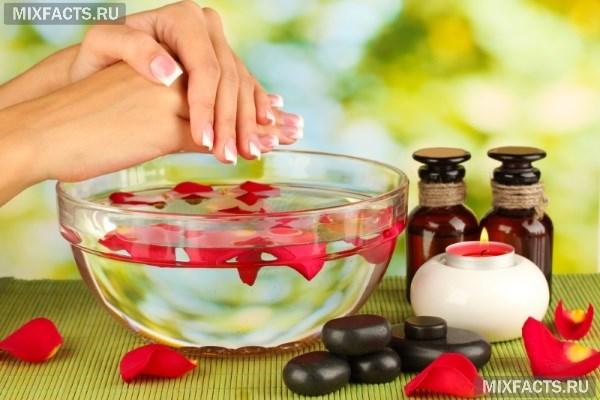 Ванночки с солью и йодом для ногтей в домашних условиях