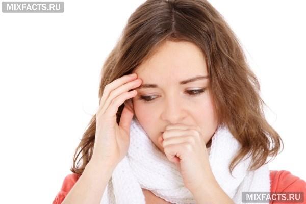 Почему сухой кашель долго не проходит у взрослого?