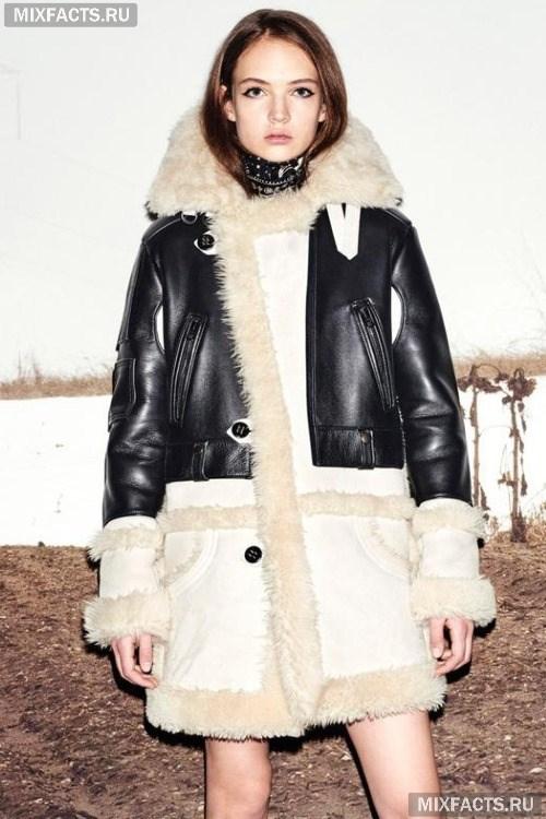 Модные женские дубленки для зимы 2017