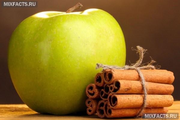 Яблоко и корица для очищения организма