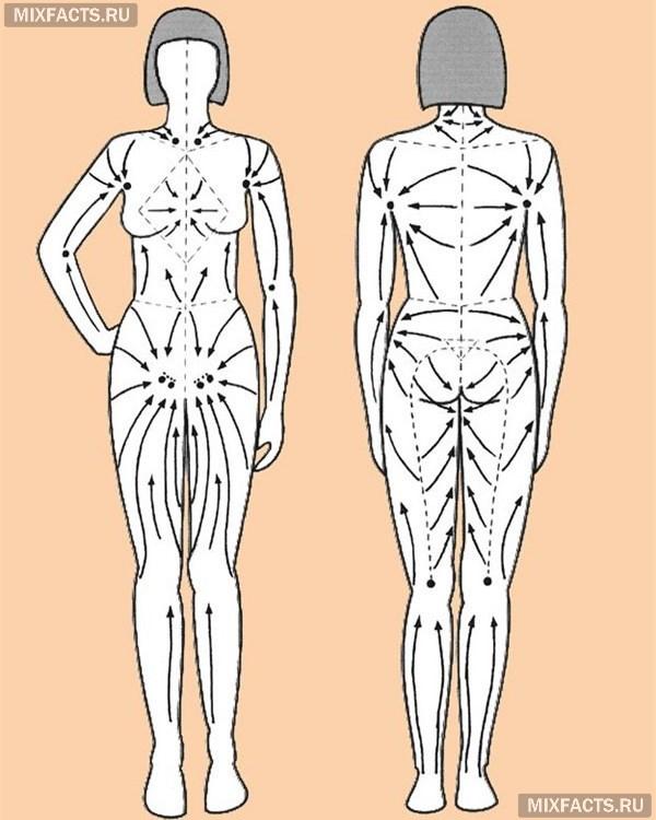Как сделать лимфодренажный массаж лица - техника выполнения массажа самостоятельно по