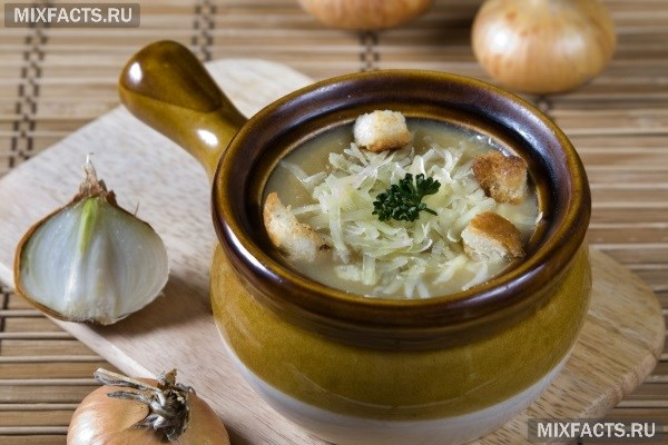 рецепт лукового супа для диеты