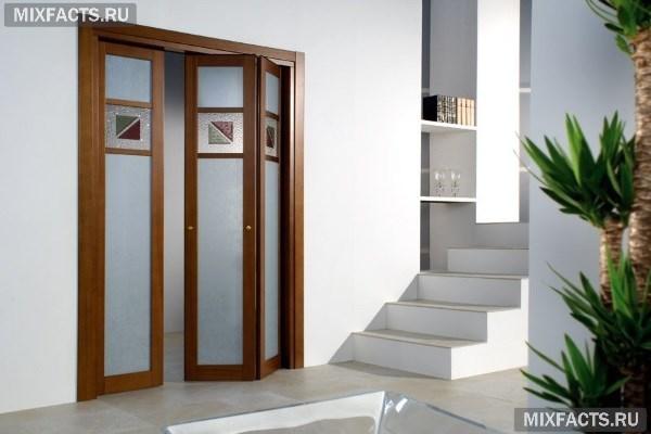 Раздвижные двери гармошкой