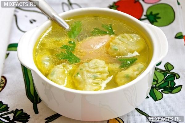 рецепты супов на основе куриного бульона