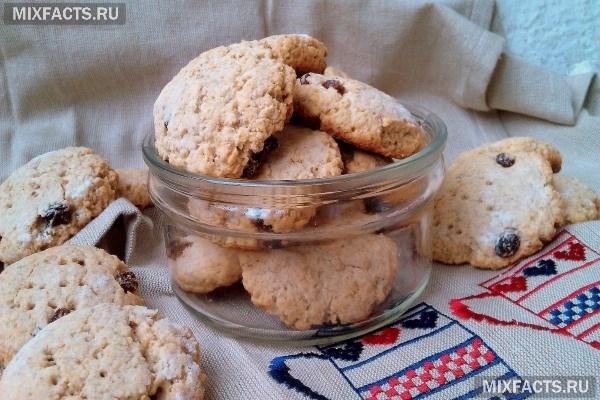 Овсяное печенье правильное питание