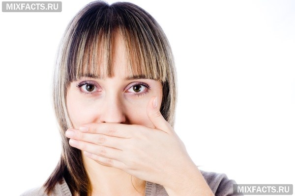 Горечь и сухость во рту после еды