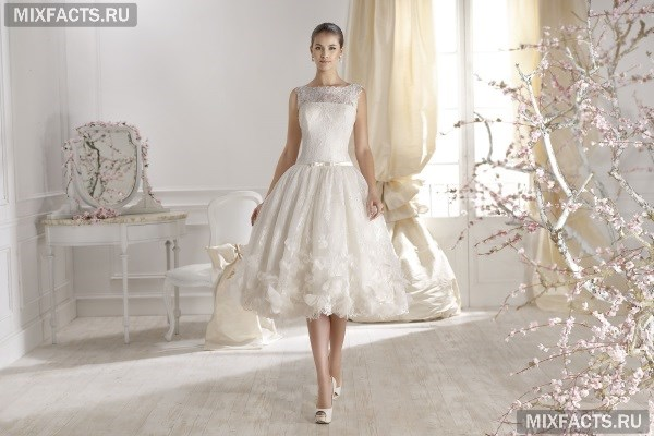 Платья миди с пышной юбкой (фото) 45f191260c3
