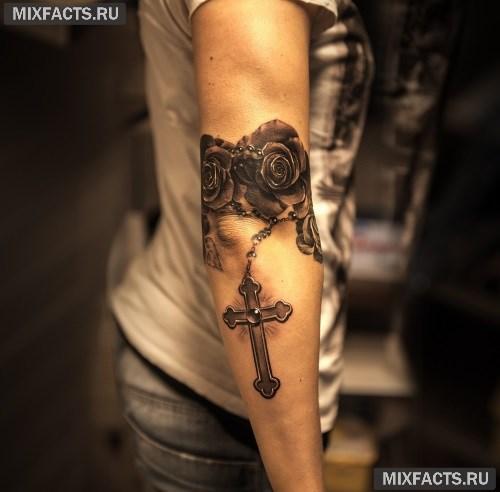 Фото девушек с большой татуировкой по всей руке
