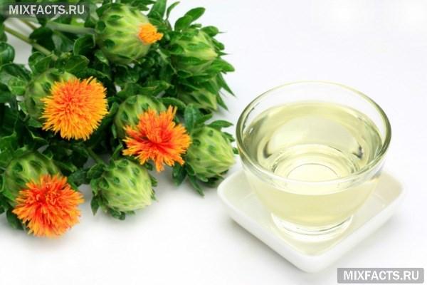 Масло сафлора – свойства, применение в косметологии и медицине