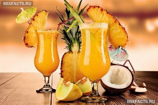 Напитки с ананасовым соком