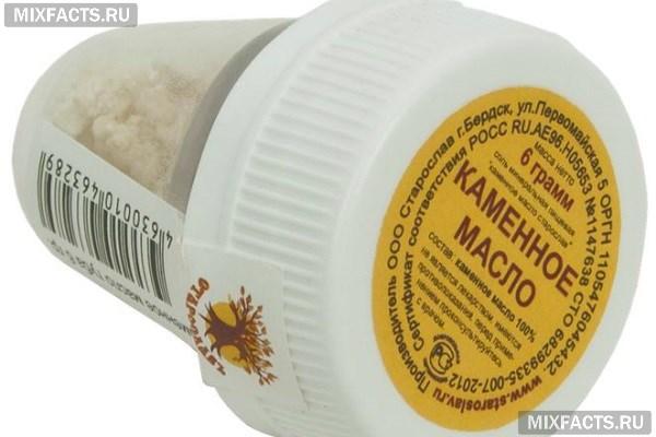 Лечебные свойства и применение каменного масла