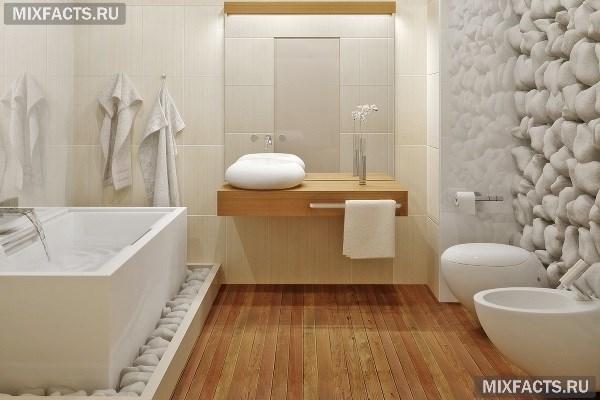 белая ванная комната дизайн идеи