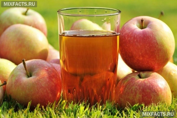 Польза свежевыжатого яблочного сока