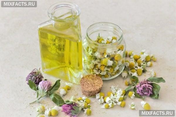 Эфирное масло ромашки – свойства и применение в косметологии