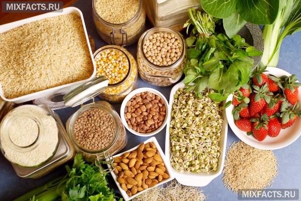 Что можно есть в пост: список основных продуктов