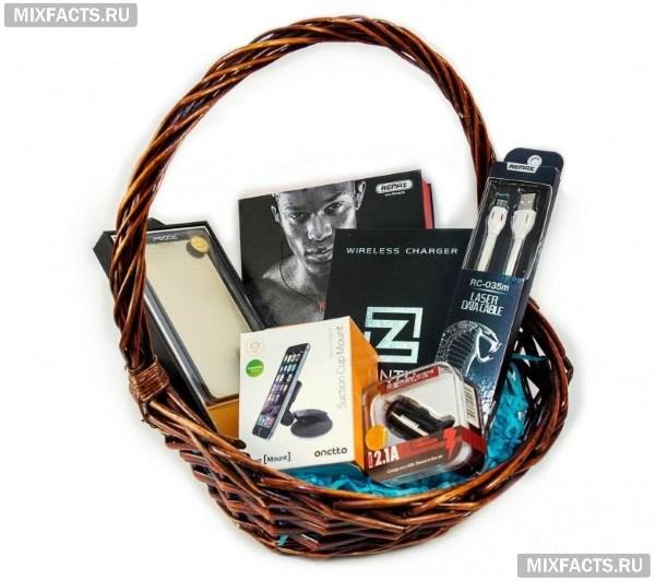 Примеры оформления подарочных корзин для женщин и мужчин – делайте полезные презенты