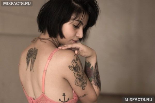 Самые популярные татуировки на спине и их значение