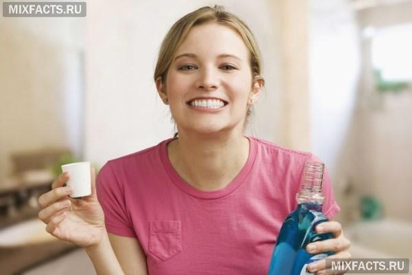 Можно ли полоскать рот после удаления зуба?