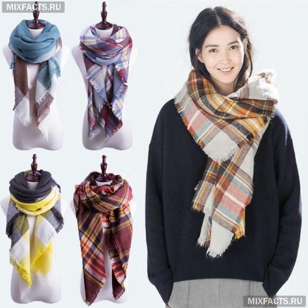 9 Как красиво завязать на голову шарф разными способами? Как красиво и стильно завязать шарф на голове летом, с пальто, мусульманке?