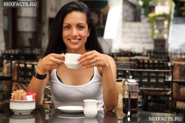 Влияние кофе на организм женщины