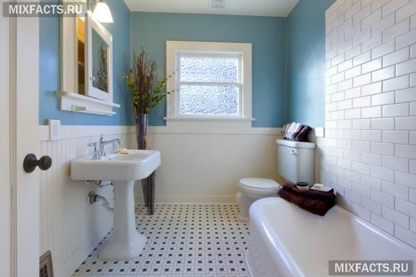 Бюджетный дизайн ванной комнаты