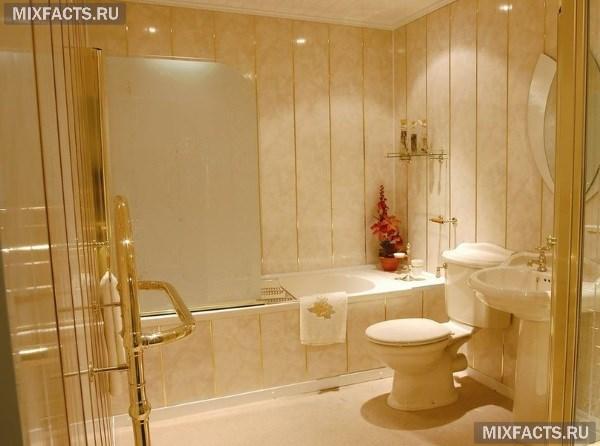 ванная комната дизайн фото для маленькой ванны бюджетный вариант 5