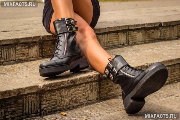 Зимние и весенние женские ботинки 2018 (фото 72a330813f28e