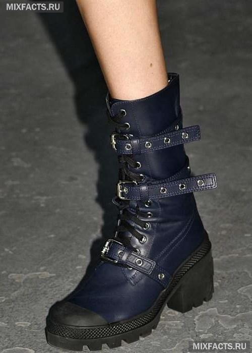 80095eebb45b Зимние и весенние женские ботинки 2018 (фото, новинки, тенденции)