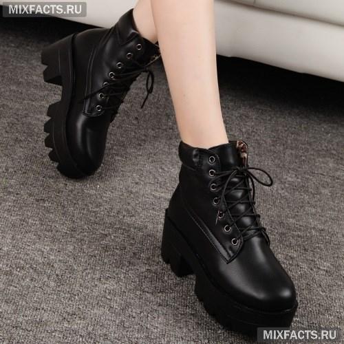 14ea24c74cb2 Зимние и весенние женские ботинки 2018 (фото, новинки, тенденции)