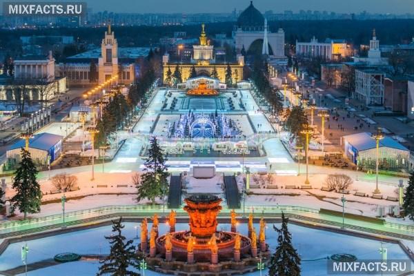 Достопримечательности москвы зимой