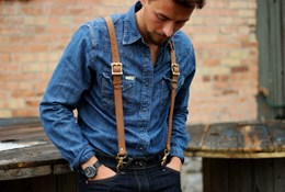 Как правильно носить мужские подтяжки - создаем стильный мужской образ с подтяжками