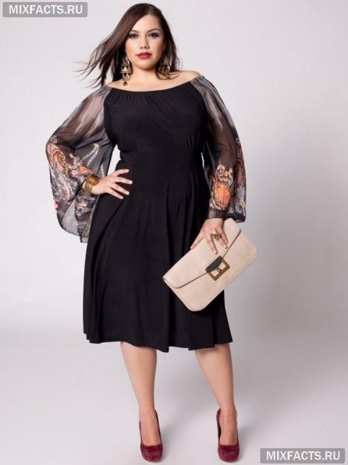 ff233cdb2c2 Вечернее платье для полных женщин (фото)